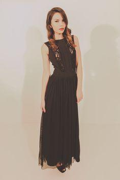 Heart Break Hotel Maxi - Black – Blackeyed Susan Garment Of Praise, Spring Summer, Summer 2014, Mother Of The Bride, Bride Groom, Bridesmaid, Bridal, Formal Dresses, Heart