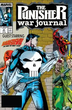 Punisher War Journal (Marvel, FN Marvel Comics - Anime Characters Epic fails and comic Marvel Univerce Characters image ideas tips Punisher Marvel, Punisher Comic Book, Marvel Comics, Marvel Comic Universe, Marvel Comic Books, Comic Books Art, Daredevil, Comic Art, Marvel Vs