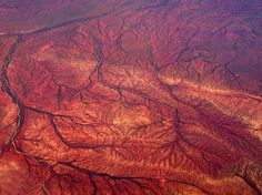 Nothing like the aerial view over Australian Outback