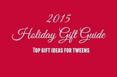 Find top gift ideas for tweens, and enter for your chance to win in the 2015 Tweenhood Holiday Gift Guide giveaways. Holiday Gift Guide, Holiday Gifts, Promote Your Business, Top Gifts, Business Website, Tween, Giveaways, Web Design, Gift Ideas