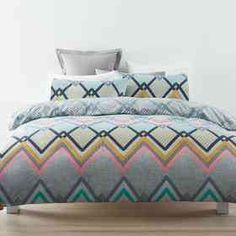 Miles Quilt Cover Set - King