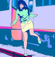luckgaki00: rotoscope animation http://luckgaki.tumblr.com/post/...