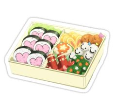 Kawaii stickers featuring millions of original designs created by independent artists. Anime Stickers, Kawaii Stickers, Laptop Stickers, Anime Bento, Food Puns, Vintage T-shirts, Food Drawing, Aesthetic Stickers, Kawaii Art