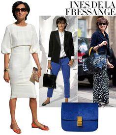 Ines de la Fressange - French Girl Style Clothing - Harper's BAZAAR