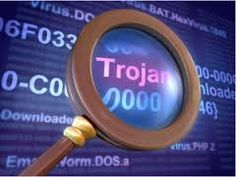 A Trojan horse is a non-self-replicating type of malware which appears to perform a desirable function but instead drops a malicious payload, often including a backdoor allowing unauthorized access to the target's computer.