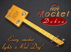 3 string guitar ~ Tenor 4 string cigar box guitars for sale
