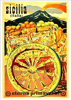 79 Best Italy - Vintage Travel Poster Prints images in 2016