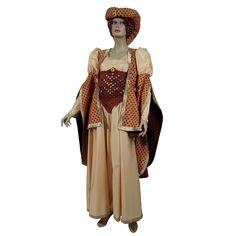 Lady Olwen code produit : 943-067 4 pièces : Robe, Bustier, Manteau et Coiffe. Taille (s) : 40