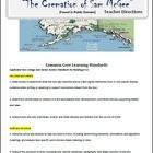 """Complete lesson plan for a close reading of Robert Service's poem, """"The Cremation of Sam McGee"""""""