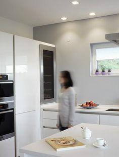 Innenarchitektur offene küche  Minimalistische Küche Bilder: Offene Küche | Minimalistische ...
