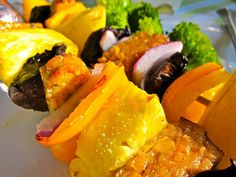 Best Summer BBQ Recipe: Tempeh Kabobs - Making Love in the Kitchen Summer Bbq, Summer Time, Best Camping Meals, Tempeh, Tofu, Turmeric Recipes, Plant Based Whole Foods, Vegetarian Recipes, Healthy Recipes