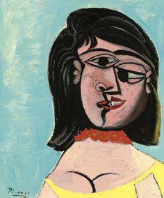 Head of a Woman | Dora Maar [1937] ////pablo P I C A S S O