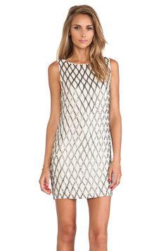 Dalyla Beaded Dress by  Alice + Olivia #REVOLVEclothing