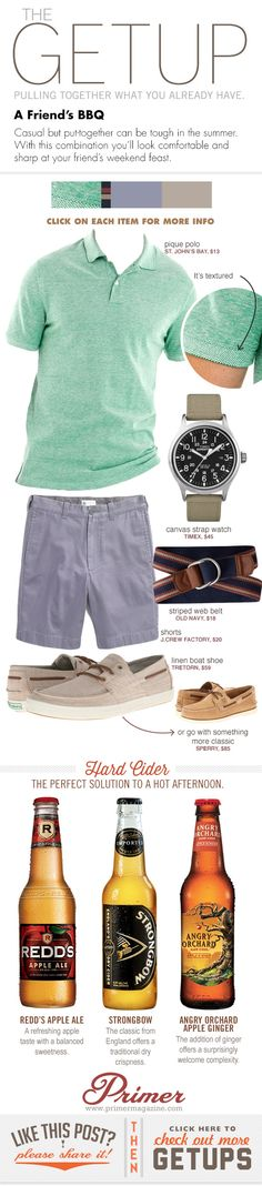 Nice combination by Primermagazine.com Get up