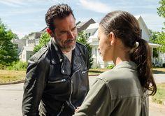 Negan (Jeffrey Dean Morgan) and Rosita Espinosa (Christian Serratos) in Episode 4 Photo by Gene Page/AMC