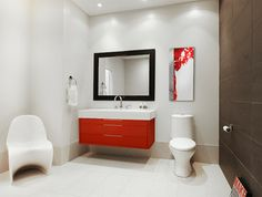 Cleaning Product Substitutions? - Houzz it's about cleaning but I just love the bathroom photo!