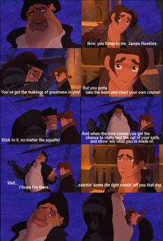 Treasure Planet~   I love this movie more than anyone will ever understand... ♥