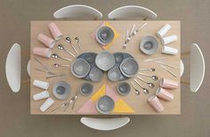 IKEA Kitchen Table Art by Carl Kleiner and Evelina Bratell