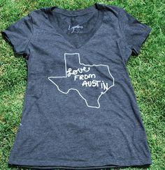Love From Austin V-Neck