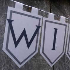 Winter is Here Game of Thrones Inspired MINI Banner