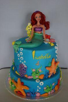 Little mermaid cake-Ariel