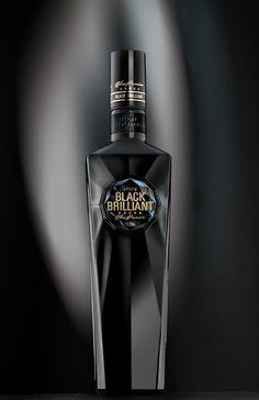 TheBestPackaging.ru – Black Brilliant – водка от RUNWAY BRANDING