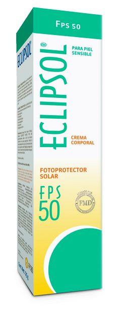 Eclipsol FPS 50 - Fotoprotector ideal para todo tipo de piel   •Protector solar indicado para personas que se broncean fácilmente.  •Para piel blanca  •FPS 50 (Factor de Protección Solar