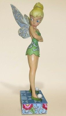 Jim Shore Disney Tradition -HUGE Tinkerbell figurine. Hubby bought me one,the look is too stinkin' cute! <3
