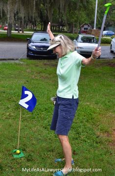 My Life as a Lawyer's Wife: E.J. is a Hole in ONE!: Golf-Themed First Birthday…