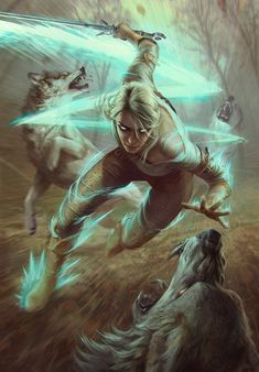 Ciri Dashing is an official concept artwork for The Witcher Wild Hunt, the video game created by CD PROJEKT RED and GWENT, the Witcher card game. The ar Mais The Witcher 3, Ciri Witcher, Witcher Art, The Witcher Wild Hunt, Fantasy Inspiration, Character Inspiration, Character Art, Fantasy Rpg, Fantasy Artwork