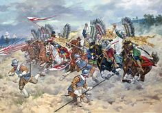 Charge of the Polish Lancers at the Battle of Kircholm