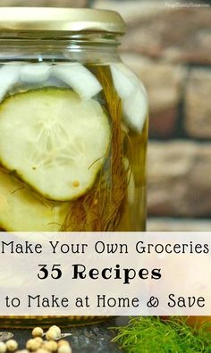 You can save money by cooking from scratch and making your own groceries. Find over 35 recipes for commonly purchased items that you can make at home and save money. I've included a mix of recipes from groceries to beverages and beauty recipe too. Earn Money From Home, Make Money Blogging, Saving Money, Classic Kitchen, Make Money Writing, Make Money Fast, Cooking Tips, Cooking Classes, Cooking Lamb