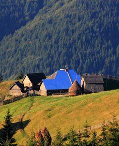 Carpathian mountings, W Ukraine, from Iryna