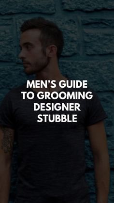 Men's Guide to Grooming Designer Stubble Latest Haircuts, Great Haircuts, Designer Stubble, Korean Fashion Men, Man Fashion, Patchy Beard, Natural Beard Oil, Mens Hairstyles Fade, Bare Face