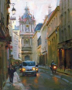 Rue de Sévigné by Jennifer McChristian Oil ~ 10 x 8