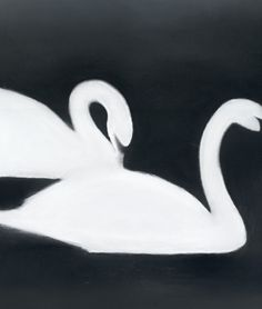 Swan I Mats Gustafson Mats Gustafson, Swan Pictures, Collections Photography, Watercolor Pictures, Aesthetic Drawing, Modern Art Prints, Minimalist Poster, Large Art, Animal Paintings