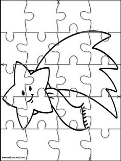 Printable jigsaw puzzles to cut out for kids Space 37