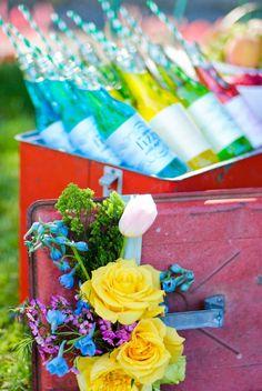 Trishy Rose: Semi Wordless Wednesday: Garden Party