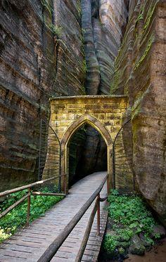 Adrspach-Teplice, park of incredible sandstone rock formations, Czech Republic (Tady jsem myslím i byla, bylo to drsný)