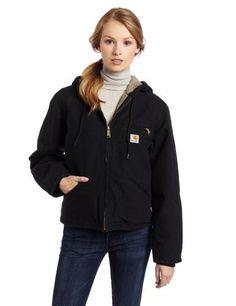I WANT! Carhartt Women's Sandstone Sierra Jacket/Sherpa-Lined,Black,X-Large Carhartt,http://www.amazon.com/dp/B001GUM9EI/ref=cm_sw_r_pi_dp_Msk0qb1H9HYY5JCA