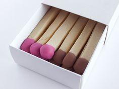Matchstick Cookies