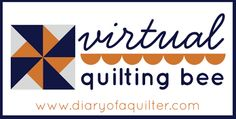 Diary of a Quilter - a quilt blog: Block #4 tutorial for the Virtual Quilting Bee
