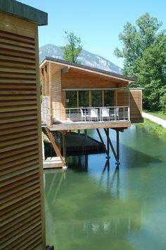 Prix national de la construction bois - Panorama - Residence Lacustres pour Pécheurs #FIBRA #bois #architecture