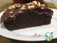 Шоколадный кекс со сметаной