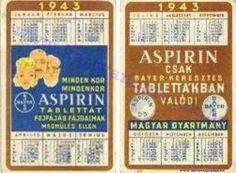1943 - 1943_0001 - Régi magyar kártyanaptárak