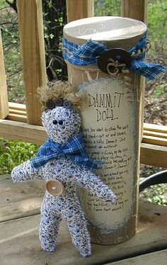 Country Dammit Doll - Crafts by Amanda