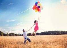 Levitation photography and gratuitous balloons - a tutorial