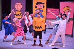 Miami Children's Theater production of You're a Good Man Charlie Brown.