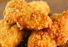 Křupavé kuřecí nugetky obalované ve zdravém těstíčku!