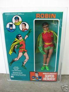 Mego's Robin action figure
